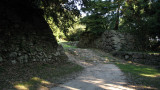 Path past the former Kurogane-mon