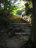 Steps to the former donjon site
