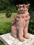 Ceramic shīsā statue