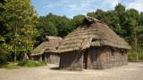 Ainu houses from Hokkaidō