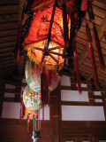 Chinese lanterns in the farmhouse