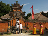 Replica of a Balinese gentry house