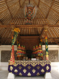 Altar in the worship hall