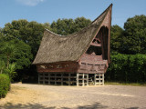 Replica of an Sumatran Toba-Batak house