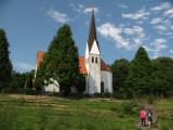 Copy of a church from Garmisch-Partenkirchen