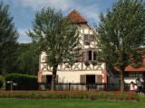 Replica of an Alsace farmhouse