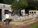 Ndebele homestead from South Africa