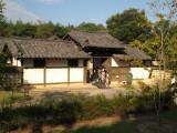 Entrance to a Korean landlord's house