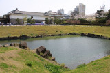 Restored portion of the old Honmaru moat