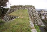 Foundations of Obama-jō's former donjon