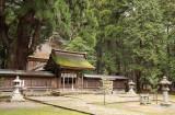 Main hall of Wakasahime-jinja