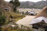 View over Mantoku-ji and surrounds