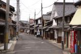 Residential street in Higashi-Obama