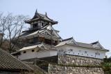 Approaching Fukuchiyama Castle