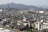 The relatively low-rise center of Fukuchiyama