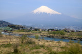 Mt. Fuji and the Fuji-kawa