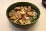 Asari (clam) udon