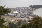 View down on Fuchū village