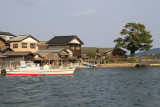 Funaya along the bay