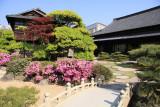Japanese garden and teahouse in Tamamo-kōen