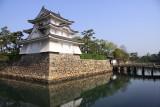 Ushitora-yagura and former castle moat