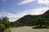 Blue skies over Ritsurin-kōen