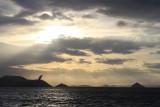 Setting sun over the Inland Sea