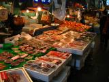 Assorted seafood in Ōmichō Market