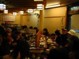 Kaiten-zushi restaurant