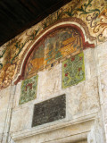 Wall detail on the Et'hem Bey Mosque