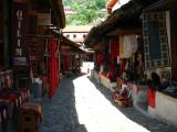 Kruja's old bazaar