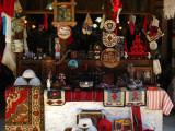 Various souvenirs on display
