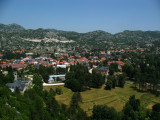 Cetinje and its surrounding valley