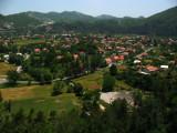Village on the southern outskirts