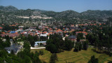 Panorama over central Cetinje