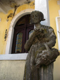 Statue outside a villa