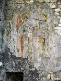 Ghosts of a church fresco, Stari Bar
