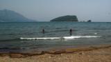 Enjoying the water