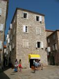 Austere stone building, Stari Grad