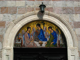 Entrance mosaic on Sveti Trojica Church