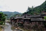 Miao Village. Guizhou,China.