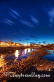 Alma, la riviere au coucher de soleil