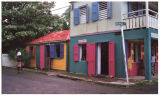 Colorful Tortola houses