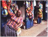 Friendly woman in Jamaica