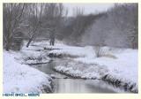 Winter near the Vloedgraaf - snow