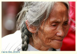 Old Lady with Braids