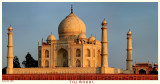 Taj Mahal at sunset - II (color)