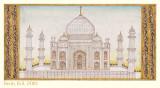 Taj Mahal - 19th (?) Century Printing