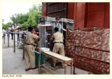 Security check at the Taj Mahal