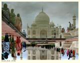 Taj Mahal - upside down